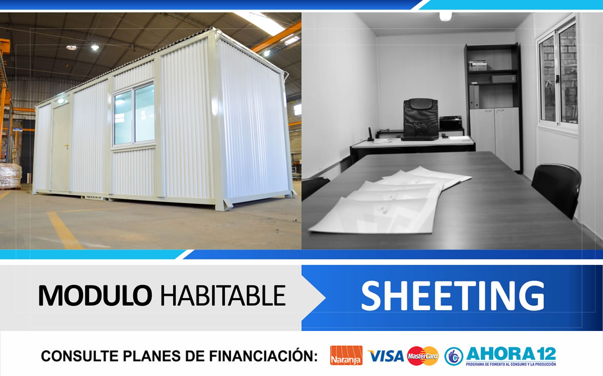 Módulo Habitable Sheeting